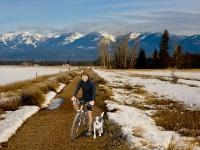 A Winter ride!