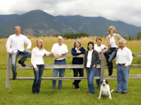 Rocky Mountain Real Estate Agents at my studio.