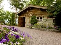 The barn at Bibler Gardens