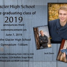 Graduation Announcements - Style 13