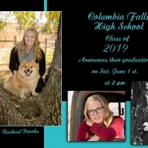 Graduation Announcements - Style 1