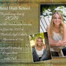 Graduation Announcements - Style 3