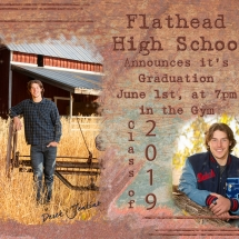 Graduation Announcements - Style 5